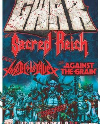 GWAR Announces 'Use Your Collusion' Summer/Fall 2019 Tour With SACRED REICH, TOXIC HOLOCAUST