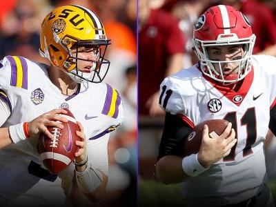 Georgia vs. LSU: Score, live updates, highlights from SEC tussle in Baton Rouge