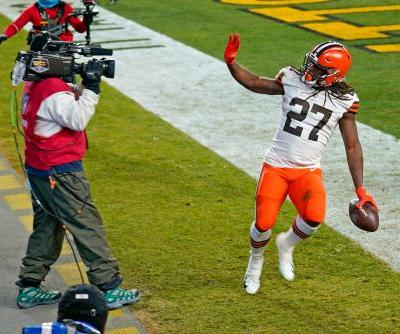 Several Browns have previous playoff experience, so they're not scared of the Chiefs
