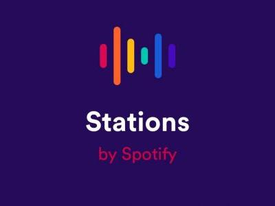 Spotify Stations lands in the US, offering free curated playlists