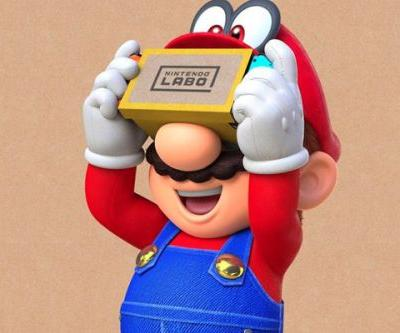 Super Mario Odyssey's content update playable without Nintendo Labo's VR Kit