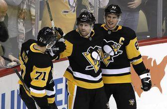 Kessel scores in OT, Penguins beat Kings 4-3