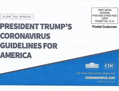 The White House's coronavirus postcards cost the struggling Post Office $28 million
