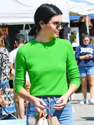 Kendall Jenner and Paris Jackson Match Outfits for the Flea Market