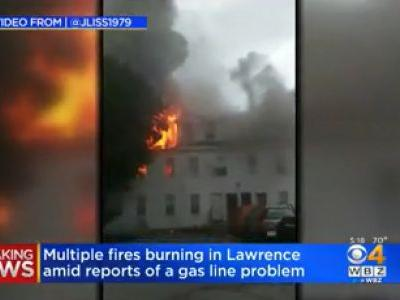 BREAKING: Authorities Respond to Numerous Gas Explosions, Fires in Northern Massachusetts