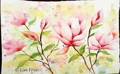Journal - Saucer Magnolia - Lin Frye