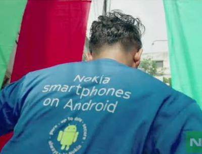 """Interesting Nokia smartphones promo video """"Chol Ay Dekhi"""" has music without any instruments"""