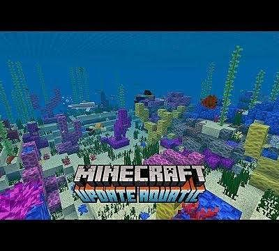 Minecraft's Update Aquatic Phase 2 Surges Onto Servers Today
