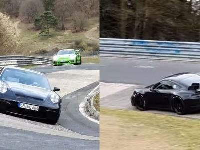992 Porsche 991 GT3, AMG GT Black Series And More Spotted At The 'Ring