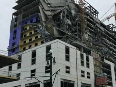 1 killed, 13 transported to hospital after Hard Rock Hotel construction collapse