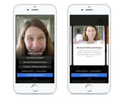 Facebook Groups monthly subscription fee testing underway