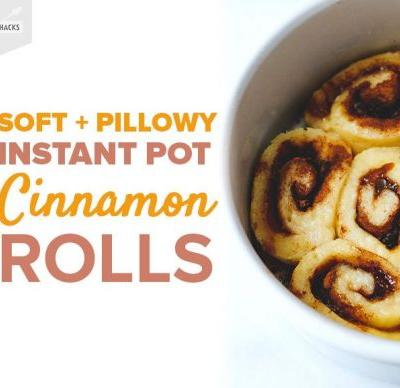 These Gluten-Free Cinnamon Rolls Come Together in Under an Hour in Your Instant Pot