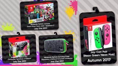 Splatoon 2 Switch Bundle Headed to Europe