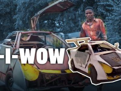 This Kid From Ghana Hand Built A Car Out Of Scraps And It's Fantastic
