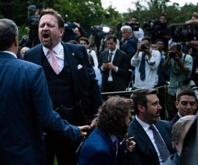 Trump's Social Media Summit nearly descends into brawl in Rose Garden