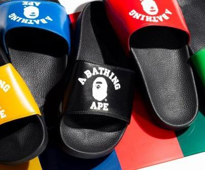 BAPE Announces Olympics-Themed College Slide Sandals