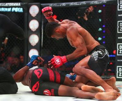 Twitter reacts to Douglas Lima's sick KO of Michael Page at Bellator 221