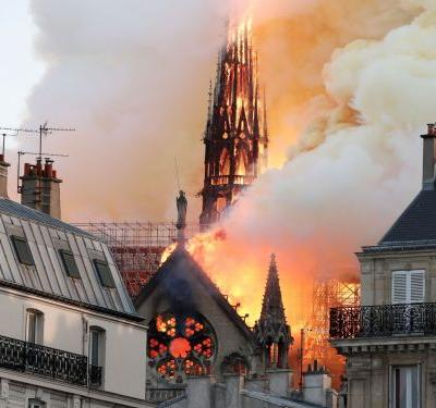 All the priceless artifacts inside Notre-Dame that firefighters are desperately trying to save