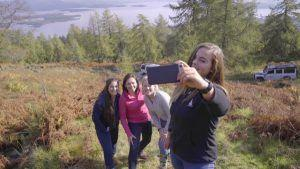 Women's Drive Towards Scotland The Home Of Golf