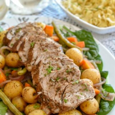 Maple Dijon Pork Tenderloin