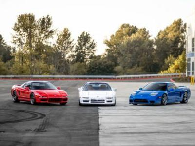 Your Extremely Patriotic Acura NSX Wallpapers Are Here