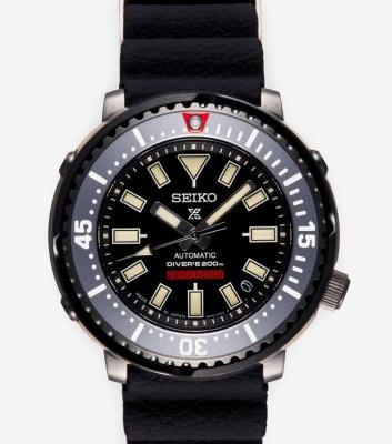 NEIGHBORHOOD and Seiko Team Up on a Street-Inspired Diver Watch