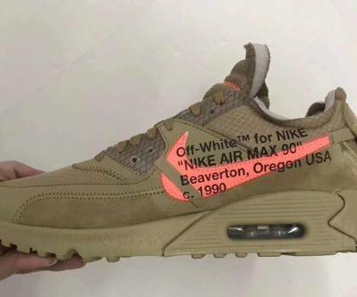 "Take a First Look at the Off-White™ x Nike Air Max 90 ""Desert Ore"""