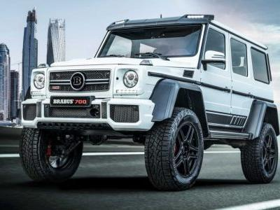 Brabus 700 4×4² Final Edition Is A Beastly Mercedes-AMG G63