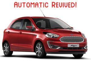 Ford Figo Automatic Launched In India At Rs 775 Lakh