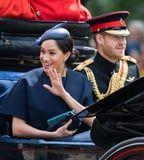 Surprise! Meghan Markle Makes an Unexpected Appearance at the Queen's Birthday Celebration
