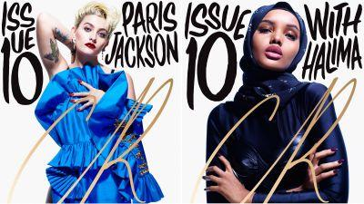 'CR Fashion Book' Just Gave Paris Jackson and Halima Aden Their First-Ever Fashion Covers