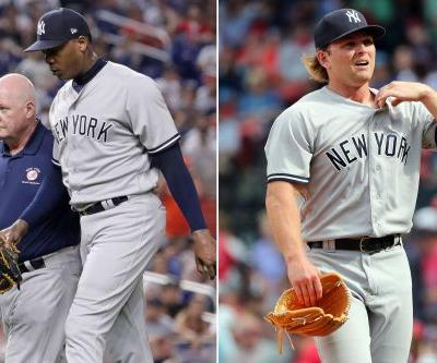 Aroldis Chapman hits DL as Yankees give prospect another shot