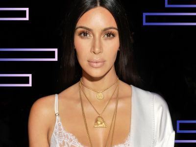 Kim Kardashian's Latest Hair Transformation Is Platinum Everything