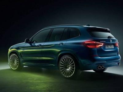 The Alpina XD3 Has 383bhp And Four Turbochargers