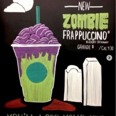 Starbucks Zombie Frappuccino Coming October 26-31