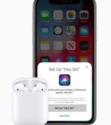 Apple just launched new AirPods with wireless charging and hands-free Siri