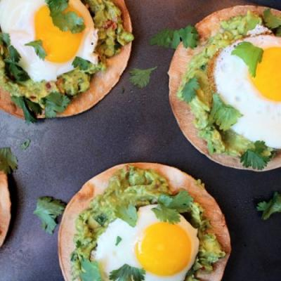Avocado Breakfast Tostadas