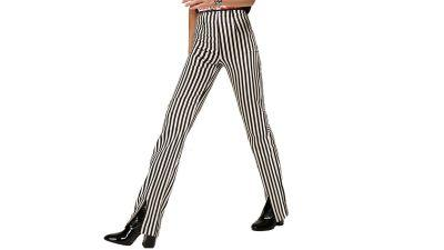 NYFW Is Over! Maura's Going to Celebrate By Buying These 'Beetlejuice' Pants