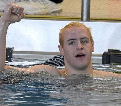 Upper St. Clair's Josh Matheny sets national record in 100-yard breaststroke