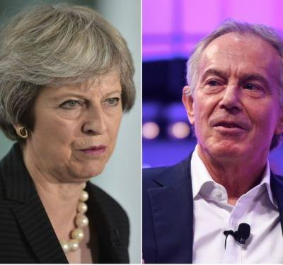 'An insult to the office he once held': Theresa May savaged Tony Blair for supporting a second Brexit referendum