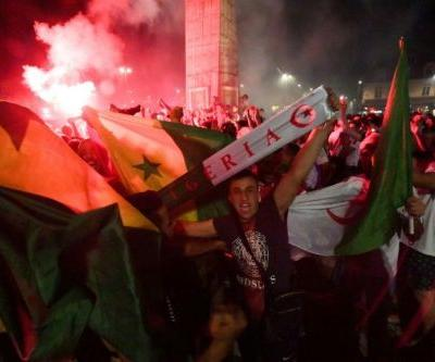 282 held over unrest in France after Algeria football win