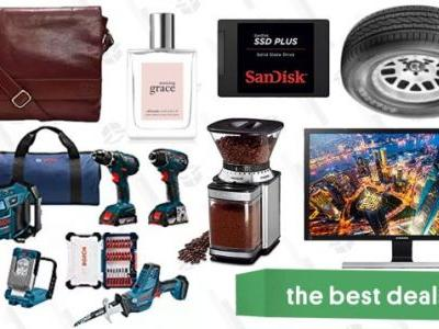 Tuesday's Best Deals: Bosch Tools, Tire Rebate, 4K Monitor, and More