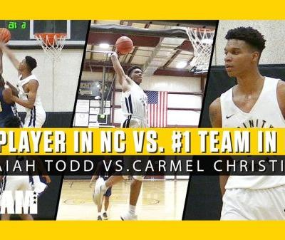 Isaiah Todd Faces Off Against The No. 1 Ranked High School In NC!
