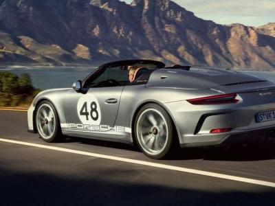 This 911 Speedster Heritage Design Package Is Automotive Marmite