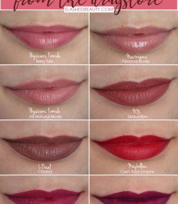 8 Perfect Shades of Drugstore Lipsticks for Fall