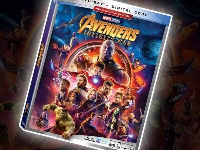 GIVEAWAY: Enter to Win Avengers: Infinity War on Blu-ray!