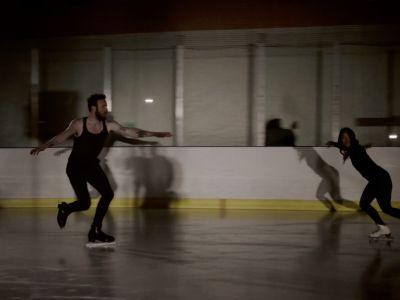 """Ruston Kelly Figure Skates In His """"Son Of A Highway Daughter"""" Video"""