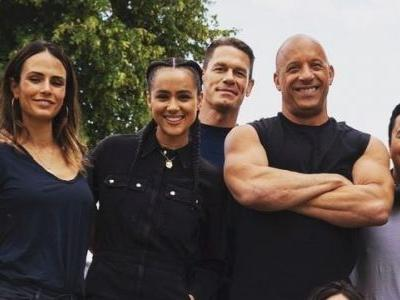 Fast & Furious 9 Set Photo Reveals First Look At John Cena With The Cast