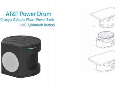 AT&T planning 2-in-1 'Power Drum' Apple Watch & iPhone charger with integrated battery