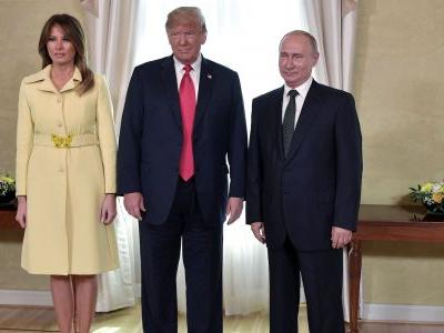 People noticed that Melania Trump seems to look 'horrified' in video after shaking hands with Putin